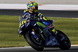 November 10, 2017 - Cheste, Spain - Valentino Rossi (Movistar Yamaha MotoGP) during free practice for Valencia Motogp  (Credit Image: © Gaetano Piazzolla/Pacific Press via ZUMA Wire)
