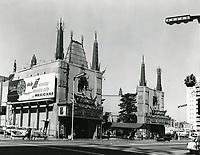 1961 Grauman's Chinese Theater