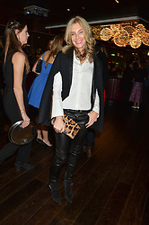 KIM HERSOV at the Launch Of Osman Yousefzada's 'The Collective' 4th edition with special guest collaborator Poppy Delevingne held in the Rumpus Room at The Mondrian Hotel, 19 Upper Ground, London SE1 on 24th November 2014, sponsored by Storm models and Beluga vodka.