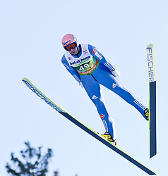 03.01.2012, Olympiaschanze/ Bergisel Stadion, AUT, 60. Vierschanzentournee, FIS Weltcup, Qualifikation, Ski Springen, im Bild Michael Neumayer (GER) // Michael Neumayer of Germany  during qualification at the 60th Four-Hills-Tournament of FIS World Cup Ski Jumping at Olympiaschanze / Bergisel Stadion, Austria on 2012/01/03. EXPA Pictures © 2012, PhotoCredit: EXPA/ P.Rinderer