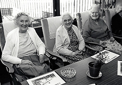 Elderly, Bilborough Nottingham UK 1988