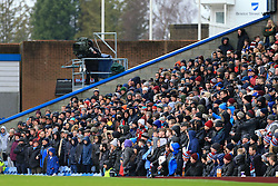 12th February 2017 - Premier League - Burnley v Chelsea - Fans watch on at Turf Moor - Photo: Simon Stacpoole / Offside.