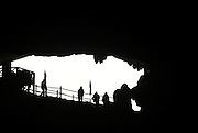 Vietnam, Halong Bay, Interior of the Sung Sot or ?Surprise Cave? on Bo Hon Island