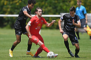 Canterbury United's Garbhan Coughlan in action in the Handa Premiership football match, Hawke's Bay United v Canterbury United, Bluewater Stadium, Napier, Sunday, December 06, 2020. Copyright photo: Kerry Marshall / www.photosport.nz