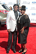 June 30, 2012-Los Angeles, CA : (L-R) Actor Smauel L. Jacksin and Actress Latanya Richardson attends the 2012 BET Awards held at the Shrine Auditorium on July 1, 2012 in Los Angeles. The BET Awards were established in 2001 by the Black Entertainment Television network to celebrate African Americans and other minorities in music, acting, sports, and other fields of entertainment over the past year. The awards are presented annually, and they are broadcast live on BET. (Photo by Terrence Jennings)