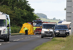 RTC, A91, 23-06-2017<br /> <br /> RTC just to the east of the Glenfarg junction on the A91<br /> <br /> (c) David Wardle | Edinburgh Elite media