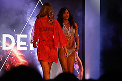 Thursday 6th October 2016.<br /> Canal Walk, Century City,<br /> Cape Town,<br /> Western Cape,<br /> South Africa.<br /> <br /> Cell C SA Lingerie Fashion Show 2016.<br /> <br /> Models and well known local celebrities take to the catwalk during the Cell C SA Lingerie Fashion Show held at Canal Walk Shopping Centre near Cape Town, South Africa on Thursday 6th October 2016.<br /> <br /> Picture By: Sive Busakwe / RealTime Images.