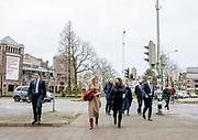 NIJMEGEN, 1-12-2020, cultuurpodia Nijmegen<br /> <br /> Koningin Maxima in Nijmegen tijdens een werkbezoek aan de Stadsschouwburg en Concertgebouw De Vereeniging. Het bezoek staat in het teken van de impact van de coronacrisis op het ondernemerschap en de bedrijfsvoering van theaters en concertzalen.<br /> <br /> Queen Maxima in Nijmegen during a working visit to the Stadsschouwburg and Concertgebouw De Vereeniging. The visit focuses on the impact of the corona crisis on entrepreneurship and the management of theaters and concert halls.