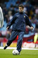 Fotball, 29. november 2003, Premier League, Aston Villa - Southampton 0-1,   Ronny Johnsen, Aston Villa