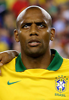 Football Fifa Brazil 2014 World Cup Matchs-Friendly / <br /> Brazil vs  Portugal 3-1  ( Gillette Stadium - Boston , Usa )<br /> MAICON Douglas of Brazil , during the Friendly match between Brazil and Portugal