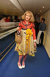 Artist GRAYSON PERRY at an exhibition of leading artist Ellsworth Kelly at the Serpentine Gallery, Kensington Gardens, London followed by a dinner at the Riverside Cafe, London on 17th March 2006.<br /><br />NON EXCLUSIVE - WORLD RIGHTS