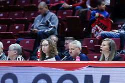 NORMAL, IL - January 06: Dave Colee during a college women's basketball game between the ISU Redbirds and the Drake Bulldogs on January 06 2019 at Redbird Arena in Normal, IL. (Photo by Alan Look)