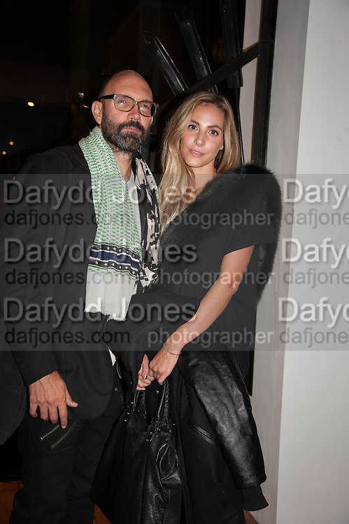 RUPERT MEAKER; ZEE POLIDORI, Opening of Morris Lewis: Cyprien Gaillard. From Wings to Fins, Sprüth Magers London Grafton St. London. Afterwards dinner at Simpson's-in-the-Strand hosted by Monika Spruth and Philomene Magers.