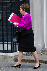 Downing Street, London, May 12th 2015. The all-conservatives Cabinet ministers gather for their first official meeting at Downing Street. PICTURED: Leader of the House of Lords Baroness Stowell