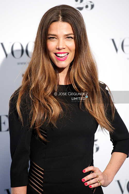 Juana Acosta attends Vogue 'Who's On Next' Party 2013 at Italian Embassy in Madrid