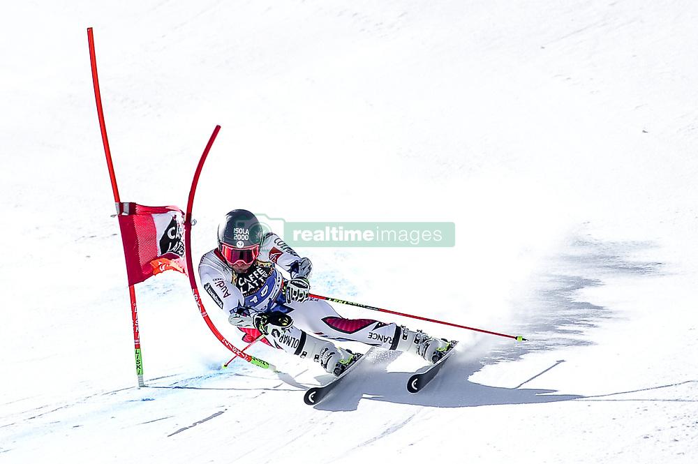 March 16, 2019 - El Tarter, Andorra - Mathieu Faiver of France Ski Team, during Men's Giant Slalom Audi FIS Ski World Cup race, on March 16, 2019 in El Tarter, Andorra. (Credit Image: © Joan Cros/NurPhoto via ZUMA Press)