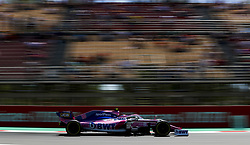 May 10, 2019 - Barcelona, Spain - Motorsports: FIA Formula One World Championship 2019, Grand Prix of Spain, ..#18 Lance Stroll (CAN, Racing Point F1 Team) (Credit Image: © Hoch Zwei via ZUMA Wire)