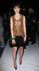 Sami Gayle at the Tracy Reese show at  New York Fashion Week  Sunday, 9th September 2012. Photo by: Stephen Lock / i-Images