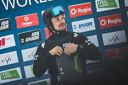 WILD Vic (RUS) during FIS alpine snowboard world cup 2019/20 on 18th of January on Rogla Slovenia<br /> Photo by Matic Ritonja / Sportida