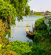 Outside of Bangkok on the river. RAW to Jpg
