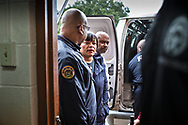 New Orleans Mayor LaToya Chantrell  at a gun buyback event she called for on Jan 20, 2019. The line started at 5:30.  Only 200 of the more than 1000 people who turned out were able to claim the $500 offered for any gun in working condition turned in. When the Mayor first announced the buyback program no limits were put on how many guns you could bring in for $500. That was changed to $500 maximum payout to any one who could prove residency in Orleans Parish.