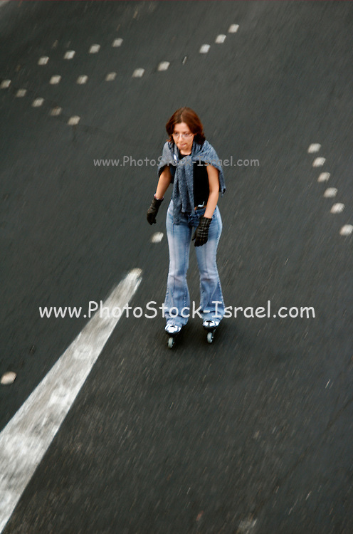 At sun down of Yom Kippur, and during the day itself, all motor transportation stops. That is the time that religious Jews fast and ask forgiveness while all other Jews and Israeli's take the chance to ride bicycles, roller blades and just walk up and down the car less main streets.