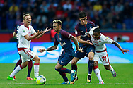 Paris Saint Germain's Brazilian forward Neymar Jr runs with the ball during the French Championship Ligue 1 football match between Paris Saint-Germain and Girondins de Bordeaux on September 30, 2017 at the Parc des Princes stadium in Paris, France - Photo Benjamin Cremel / ProSportsImages / DPPI