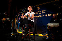 Sting performs at the 2012 Cinema For Peace New York 2012...Photo by Robert Caplin