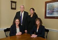 Westcott Law portraits.  ©2017 Karen Bobotas Photographer