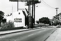 1973 Cine Mobile at Sunset Blvd. & Sunset Plaza Dr.
