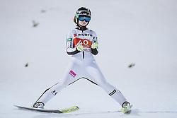 03.03.2021, Oberstdorf, GER, FIS Weltmeisterschaften Ski Nordisch, Oberstdorf 2021, Damen, Skisprung, HS137, Einzelbewerb, im Bild Nika Kriznar (SLO) // Nika Kriznar of Slovenia during the women ski Jumping HS137 single competition of FIS Nordic Ski World Championships 2021 Oberstdorf, Germany on 2021/03/03. EXPA Pictures © 2021, PhotoCredit: EXPA/ JFK