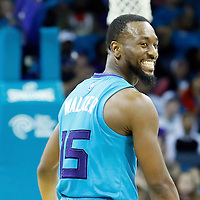 01 November 2015: Charlotte Hornets guard Kemba Walker (15) reacts during the Atlanta Hawks 94-92 victory over the Charlotte Hornets, at the Time Warner Cable Arena, in Charlotte, North Carolina, USA.