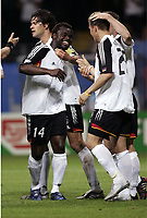 FOOTBALL - CONFEDERATIONS CUP 2005 - GROUP A - GERMANY v AUSTRALIA - 15/06/2005 - GERMAN JOY - <br /> PHOTO JEAN MARIE HERVIO / Digitalsport<br /> Norway only