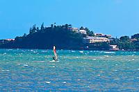 Windsurfing, Magenta Bay (Baie de Magenta), Noumea, New Caledonia