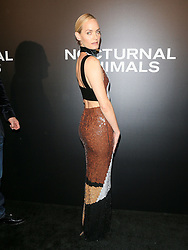 Celebrities are seen attending the special screening of Focus Features' 'Nocturnal Animals' at the Hammer Museum in Los Angeles. 11 Nov 2016 Pictured: Amber Valletta. Photo credit: Bauer Griffin / MEGA TheMegaAgency.com +1 888 505 6342