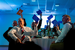 Guests play Hay or Bee at the annual Exeter Chiefs Foundation Christmas Dinner at Sandy Park - Ryan Hiscott/JMP - 07/12/2018 - RUGBY - Sandy Park - Exeter, England - Exeter Chiefs Foundation Christmas Dinner with David Flatman