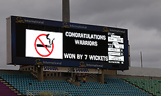 CSA T20 Challenge : Dolphins v Warriors