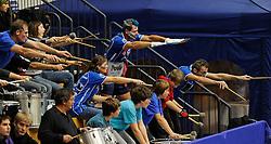 09.12.2010, Uni Sportinstitut, Innsbruck, AUT, CEV Champions League, Hypo Tirol Volleyballteam (AUT) vs Dinamo Moskau (RUS), im Bild Hypo Tirol Fans. EXPA Pictures © 2010, PhotoCredit: EXPA/ R. Parigger