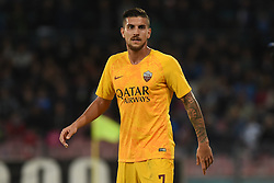 October 28, 2018 - Naples, Naples, Italy - Lorenzo Pellegrini of AS Roma during the Serie A TIM match between SSC Napoli and AS Roma at Stadio San Paolo Naples Italy on 28 October 2018. (Credit Image: © Franco Romano/NurPhoto via ZUMA Press)
