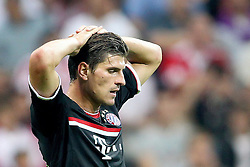 26.07.2011, Allianz Arena, Muenchen, GER, Audi Cup 2011,  FC Bayern vs AC Milan, im Bild Mario Gomez (Bayern #33)  // during the Audi Cup 2011,  FC Bayern vs AC Milan , on 2011/07/26, Allianz Arena, Munich, Germany, EXPA Pictures © 2011, PhotoCredit: EXPA/ nph/  Straubmeier       ****** out of GER / CRO  / BEL ******