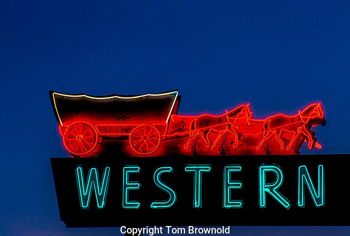 Neon Sign in Flagstaff, Arizona