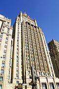 forigen Affairs Ministry building one of the Seven Sisters which are seven Stalinist skyscrapers, Moscow, Russia
