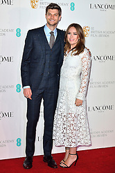 © Licensed to London News Pictures. 13/02/2016. <br /> JIM CHAPMAN and TANYA BURR attend the BAFTA Lancôme Nominees' Party held at Kensington Palace. London, UK. Photo credit: Ray Tang