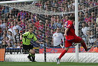 Photo: Lee Earle.<br /> Crystal Palace v Sheffield United. Coca Cola Championship. 22/09/2007. Carl Fletcher (R) scores the second goal for Palace.
