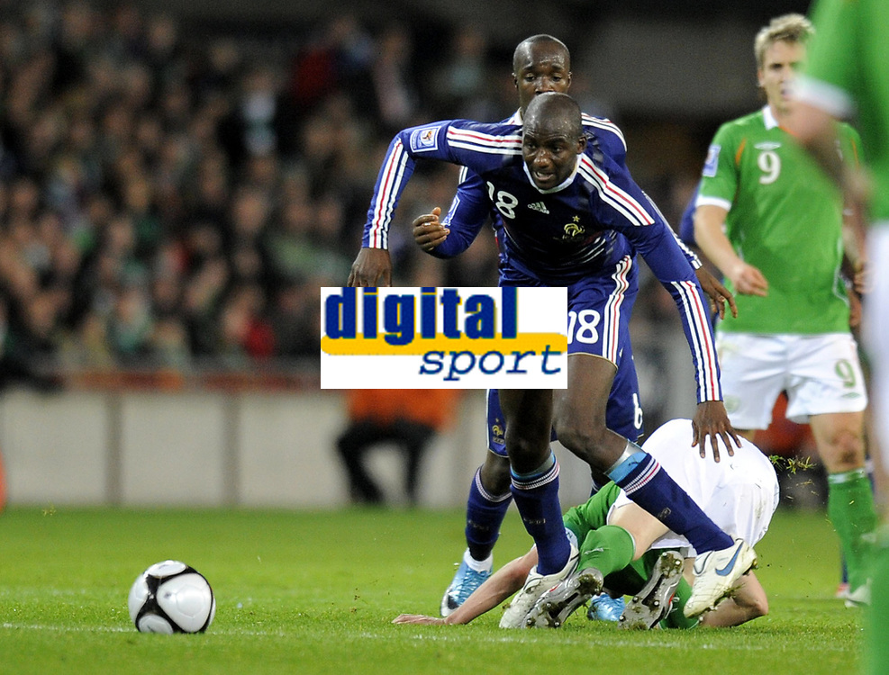 Fotball<br /> Frankrike v Irland<br /> Foto: DPPI/Digitalsport<br /> NORWAY ONLY<br /> <br /> FOOTBALL - FIFA WORLD CUP 2010 - PLAY OFFS - REPUBLIC OF IRELAND v  FRANCE - 14/11/2009 <br /> <br /> DIARRA