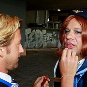 NLD/Amsterdam/20110806 - Canalpride Gaypride 2011, Carlo Boszhard en partner Herald Adolfs
