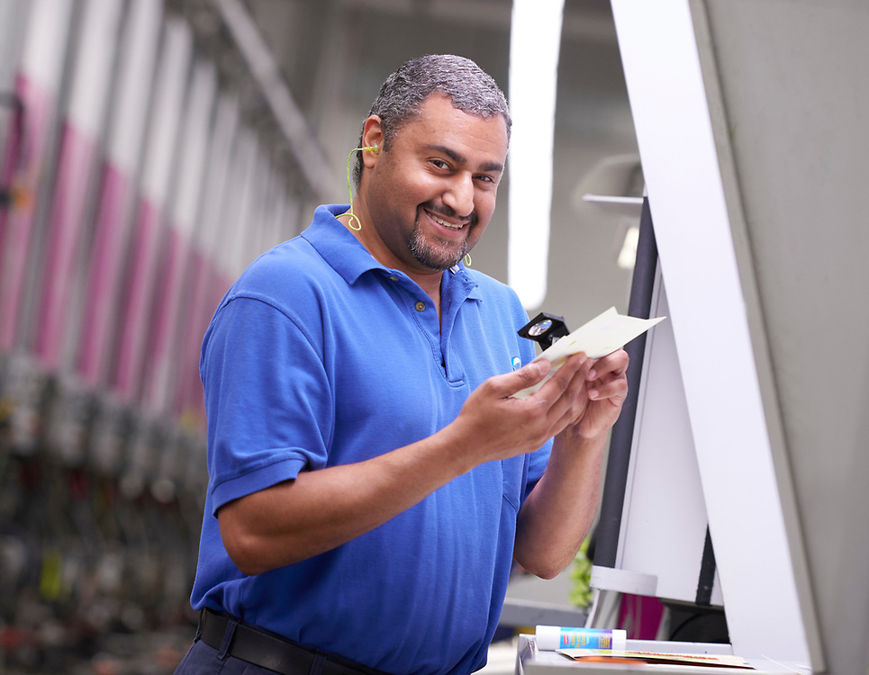 Amcor Packaging employee, Reidsville, NC facility.