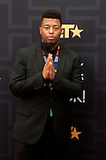 April 1, 2016- Newark, NJ: United States- Recording Artist Anatii attends the 2016 Black Girls Rock Red Carpet Arrivals held at NJPAC on April 1, 2016 in Newark, New Jersey. Black Girls Rock! is an annual award show, founded by DJ Beverly Bond, that honors and promotes women of color in different fields involving music, entertainment, medicine, entrepreneurship and visionary aspects.   (Terrence Jennings/terrencejennings.com)