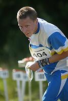 Orientering, 21. juni 2002. NM sprint. Jon Are Myhren, Bækkelaget.