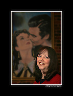 Marietta - Connie Sutherland, director of the Gone With the Wind Museum in Marietta inside the museum on Monday, February 9, 2009.  She and the museum will be filmed for a Warner Bros. documentary for the 70th anniversary of the film, which premiered in Atlanta. Johnny Crawford © 2008